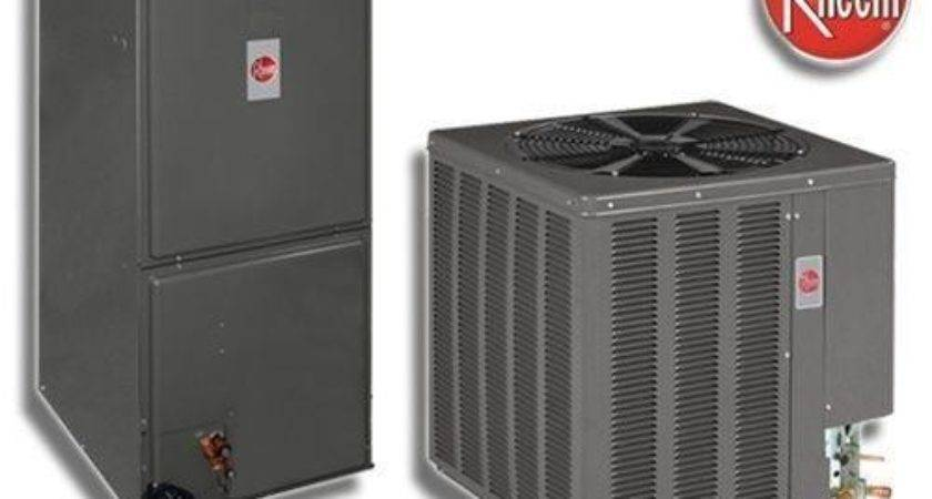 Rheem Central Air Conditioner Ebay