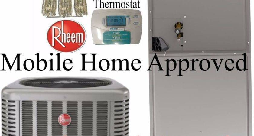 Rheem Ton Seer Heat Pump Split System