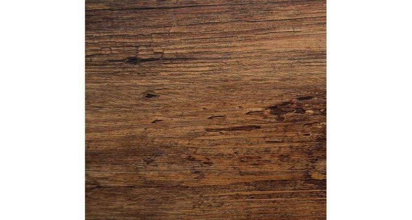 Rich Brown Wood Self Adhesive Vinyl Wall Door