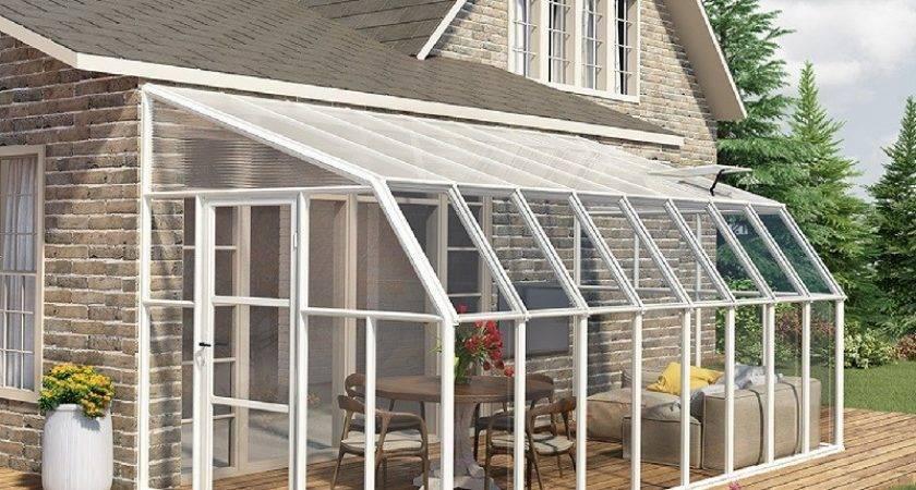 Rion Sun Room Lean Greenhouse
