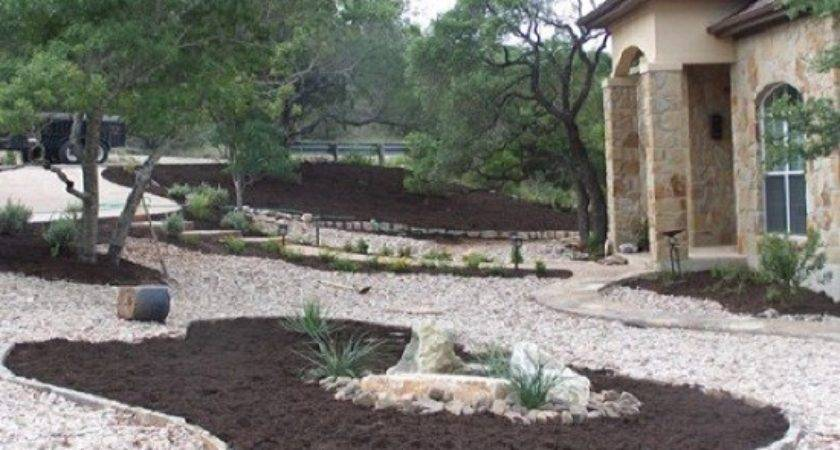 River Rock Landscaping Ideas Front Yard