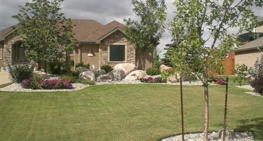 Rock Garden Designs Front Yards Home Deco Plans