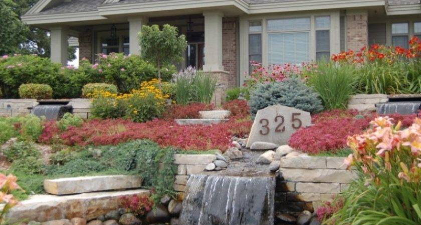 Rock Garden Designs Landscaping Ideas Front Yard