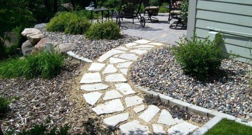 Rock Mulch Landscape Ideas Flyingangels Club