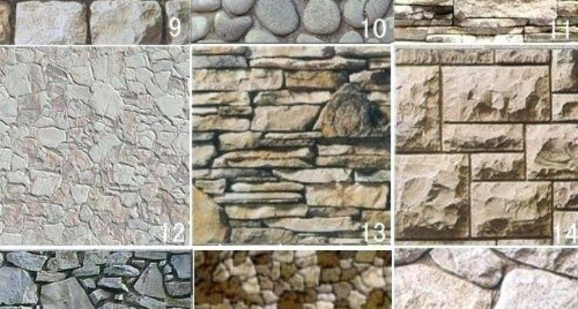 Rock Siding Homes Home Design