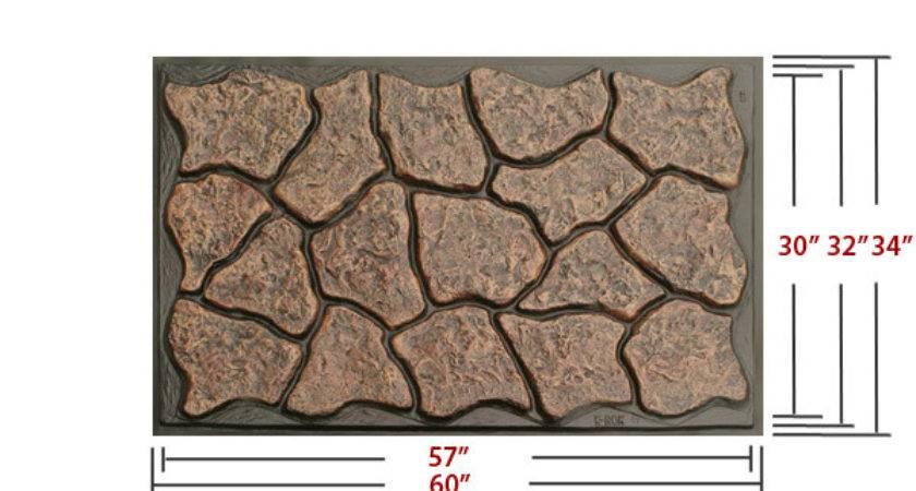 Rok Stone Skirting Plastic Rock Skirt Panels