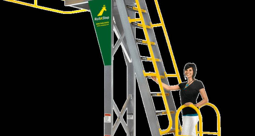 Rollastep Mobile Work Platforms Saferack