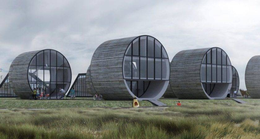 Rolling Homes Offer Tubular Residential Concept