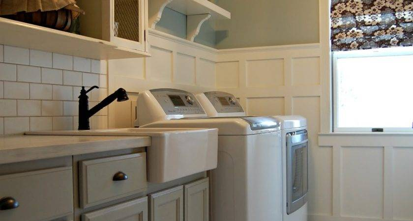 Roly Poly Farm Laundry Room Reveal