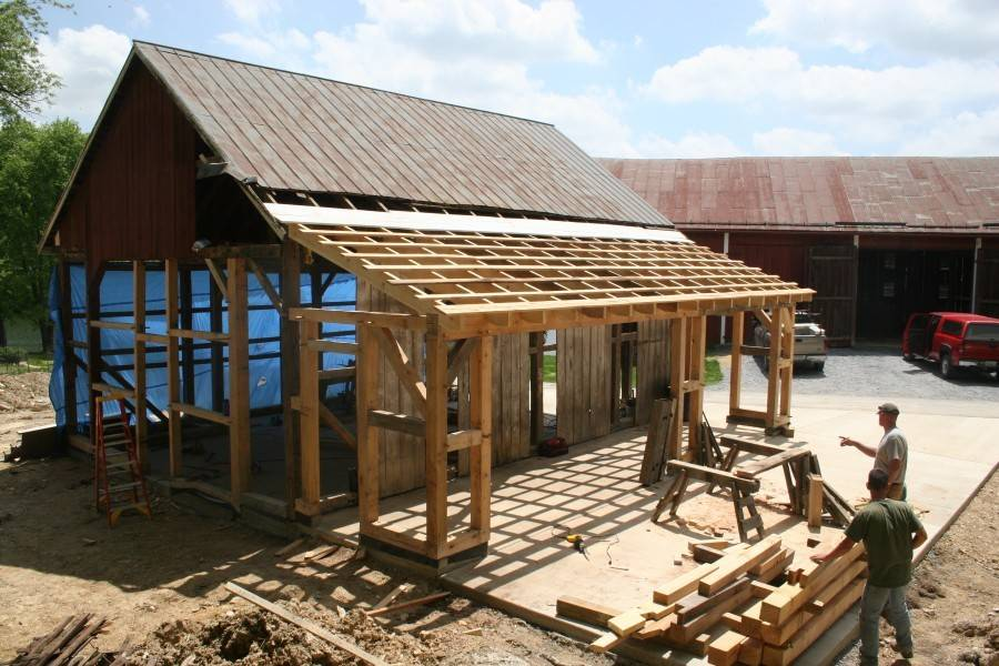 Roof Addition Diagram Skillion Framing Inside - Get in The ...