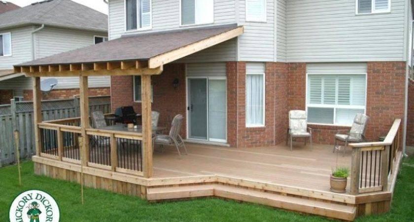 Roof Diy Deck Plans