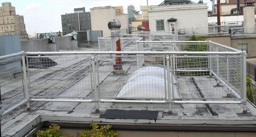 Roof Handrail Keeguard Topfix Tested Meet
