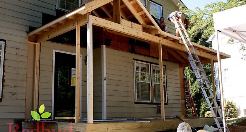 Roof Line Front Porch Little
