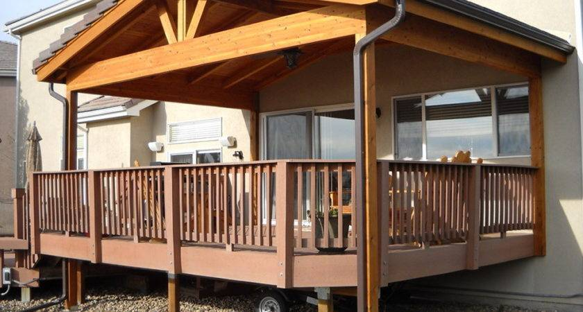 Roof Over Deck Design Home Ideas