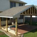 Roof Patio Designs Pergola Attached
