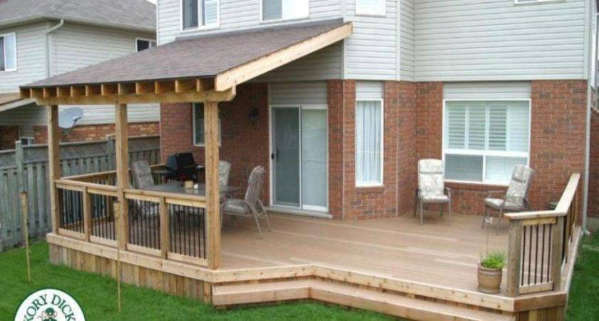 Roof Patio Designs Pergola Attached