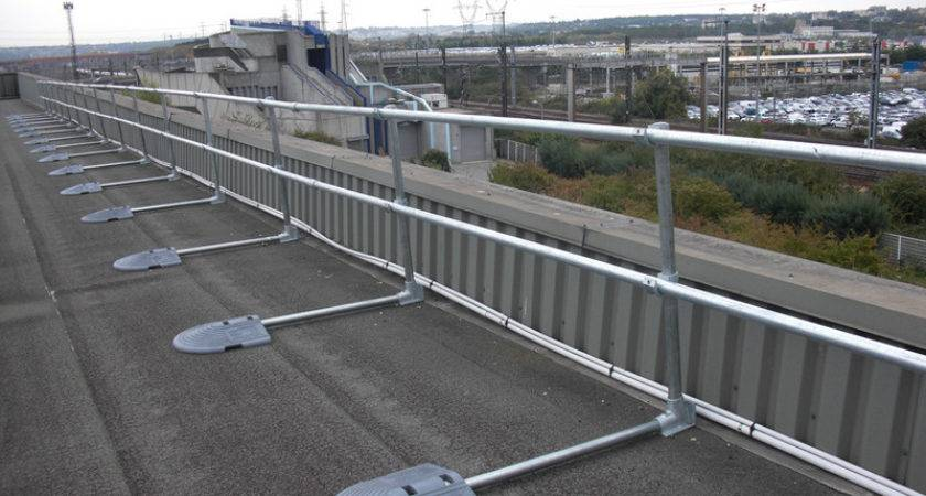Roof Railing System Fall Protection Osha