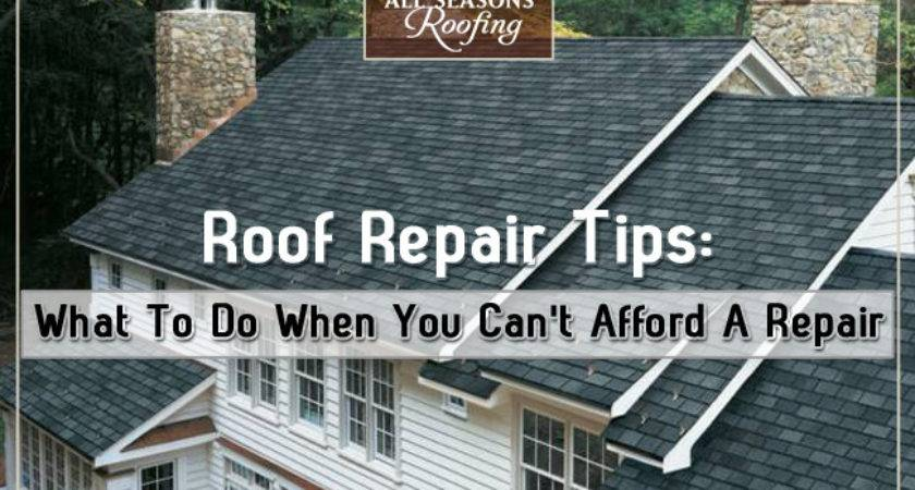 Roof Repair Tips Can Afford