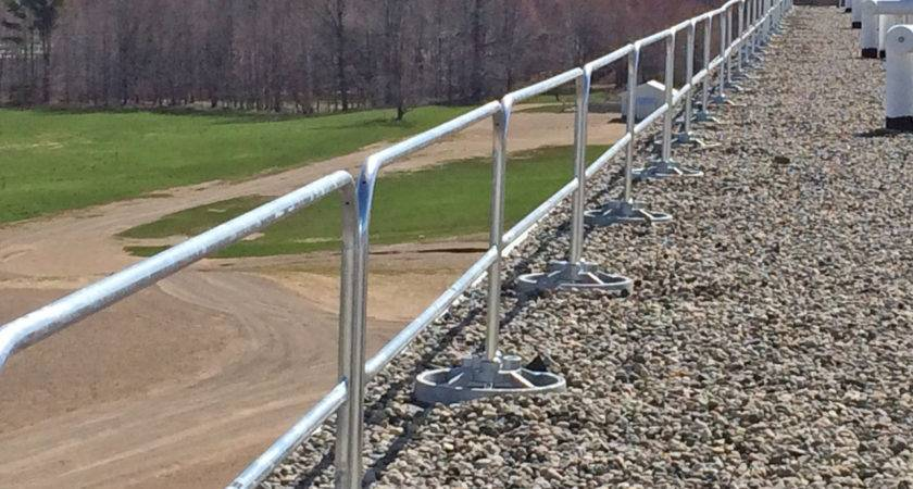 Roof Safety Rails Guardrail Systems