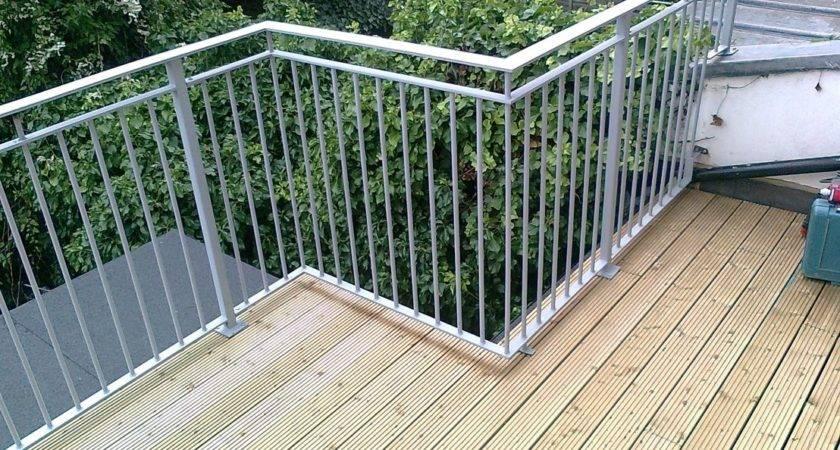 Roof Terrace Railings Quality Assured Engineering