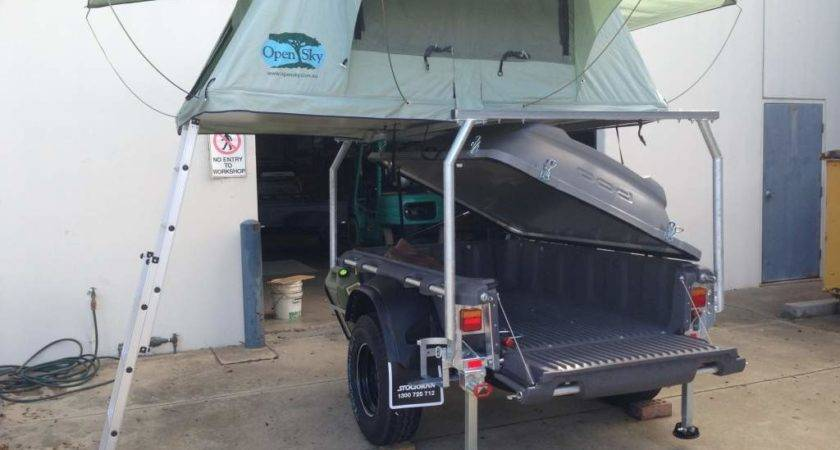 Roof Top Tents Pods Pod Trailer