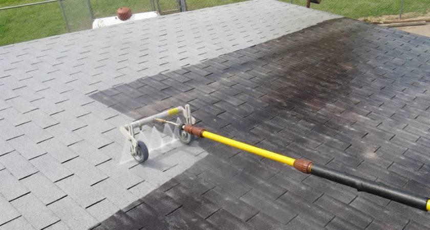Roof Washing Texas