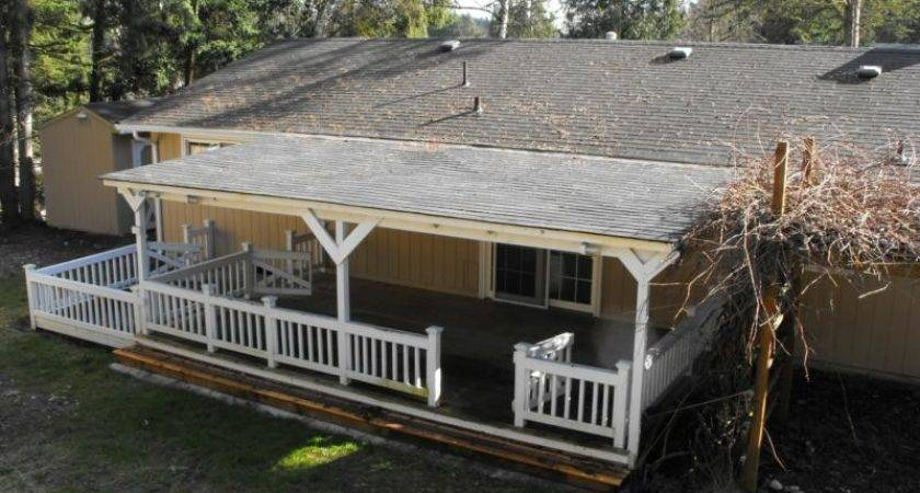 Roofs Over Decks Diy Building Roof Deck Roofing