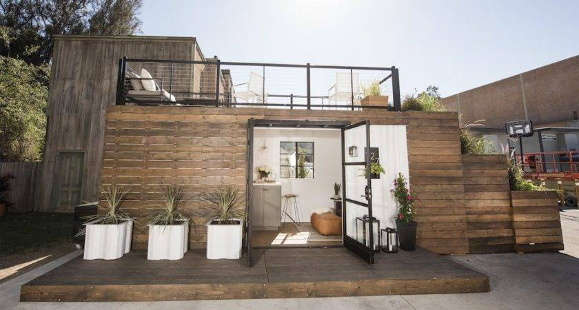 Rooftop Deck Container Home Tiny House Swoon