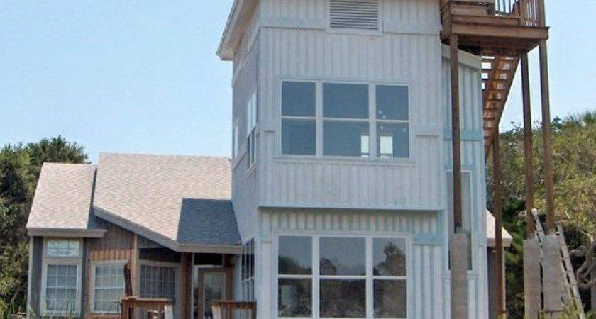 Rooftop Observation Deck Beach House Plan Other Metro