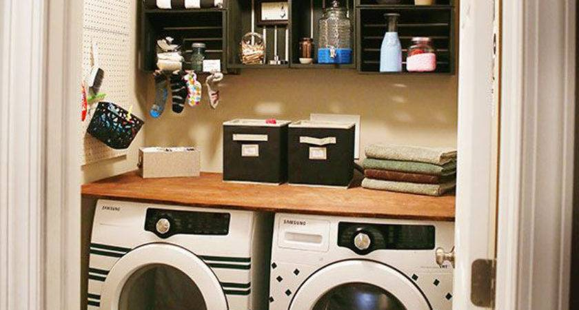 Room Makeover Ideas Small Laundry