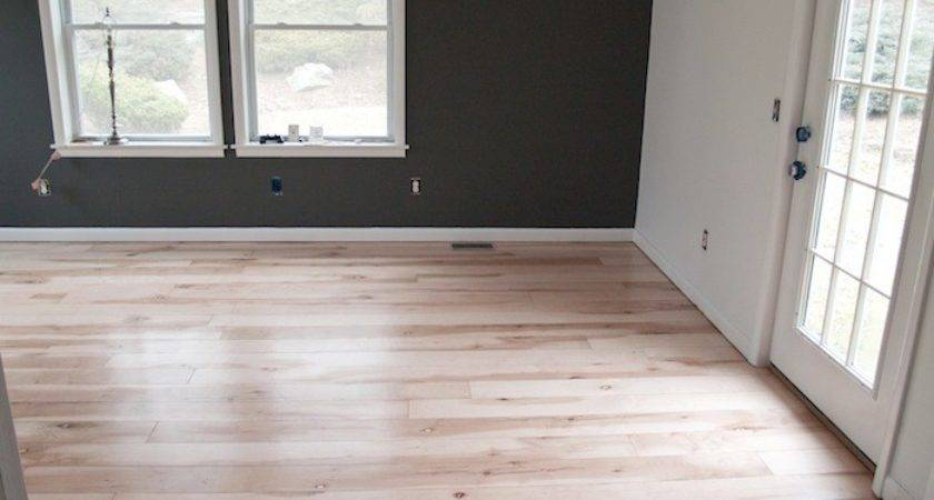Room Painting Plywood Planked Floor Progress