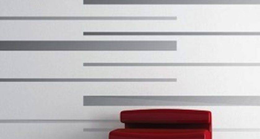 Room Stripes Vinyl Wall Decals Modern