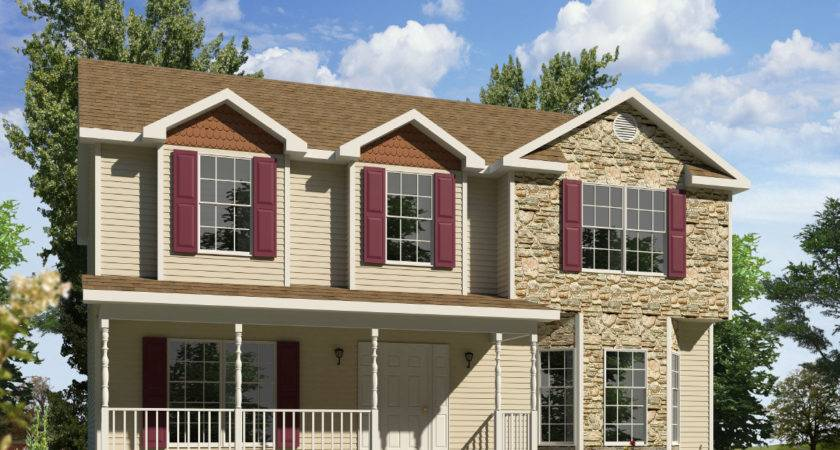 Roosevelt Two Story Style Modular Homes