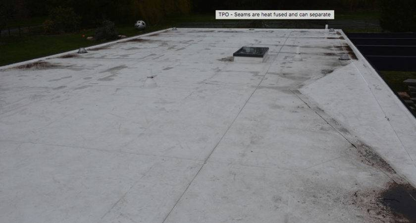Rubber Membrane Flat Roof Three Roofs