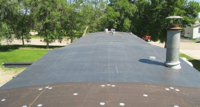 Rubber Roof Marvelous Roofing Mobile Homes