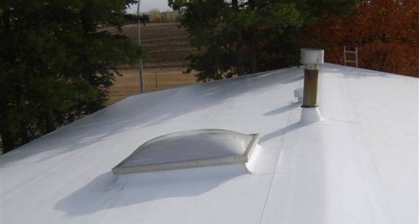 Rubber Roofing Roof Mobile Home
