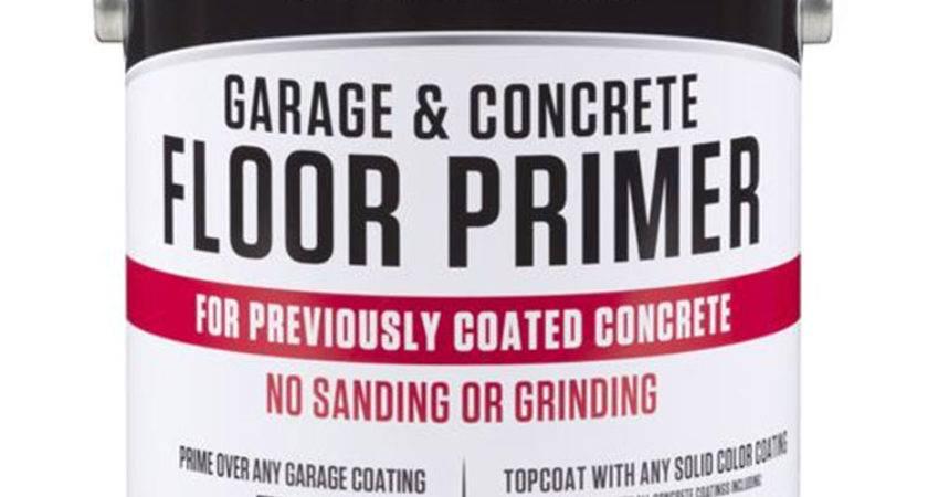 Rust Oleum Garage Concrete Floor Primer