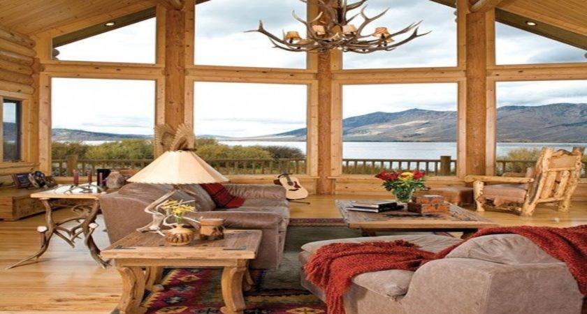 Rustic Cabin Interior Design Ideas Pin