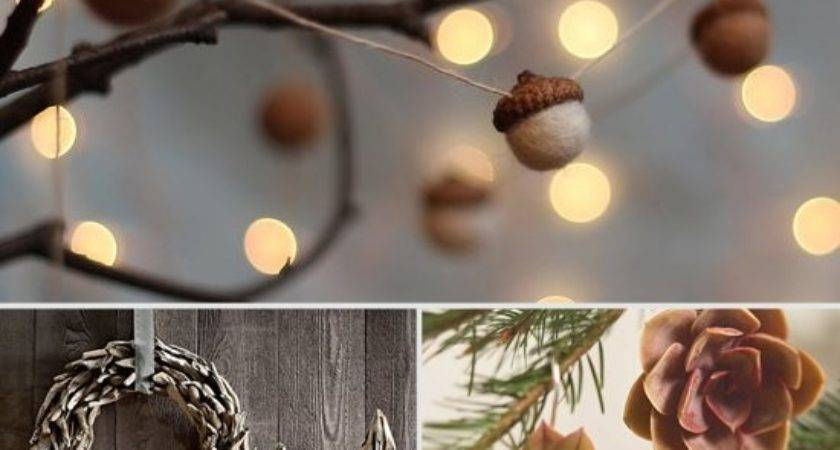 Rustic Christmas Decorations Popsugar Home