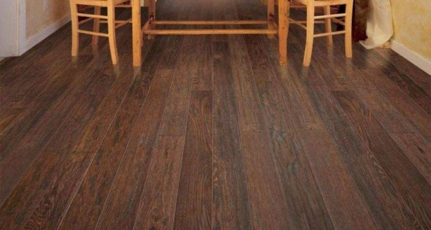 Rustic Coffee Brown Wooden Floor Cozy Soft Warm