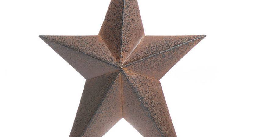 Rustic Dimensional Folk Barn Star Stars Primitive