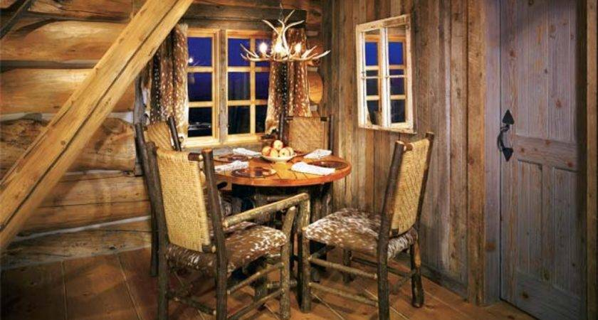 Rustic Interior Decor Cabin Design