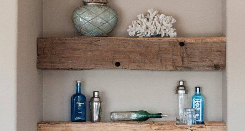 Rustic Kitchen Shelving Ideas Country Farmhouse