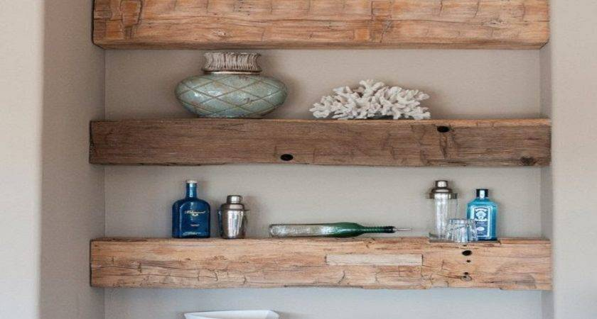 Rustic Kitchen Shelving Ideas Diy Country Home Decorating