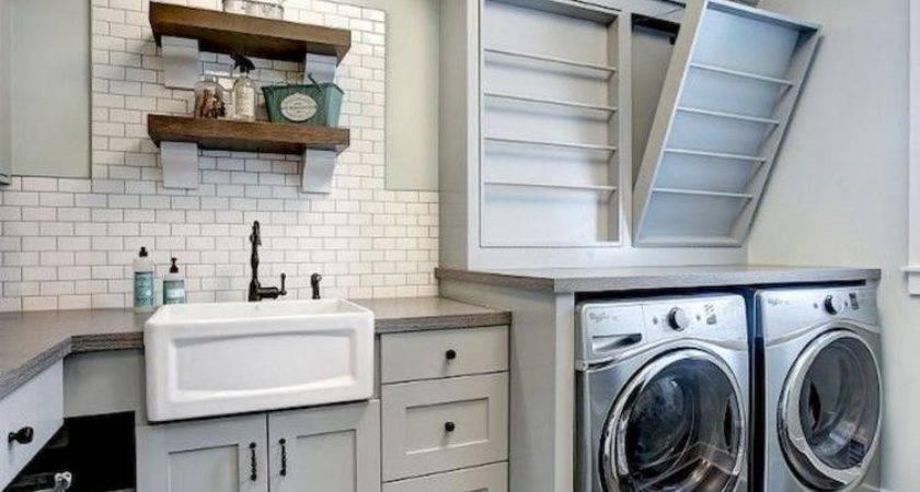 Rustic Laundry Room Decor Ideas