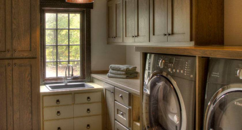 Rustic Laundry Room Home Design Photos Decor Ideas