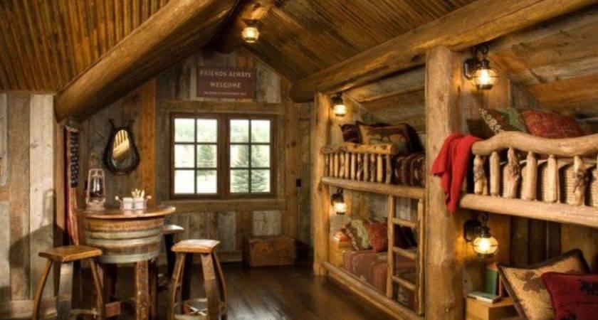 Rustic Log Cabin Interior Design Ideas Style Motivation