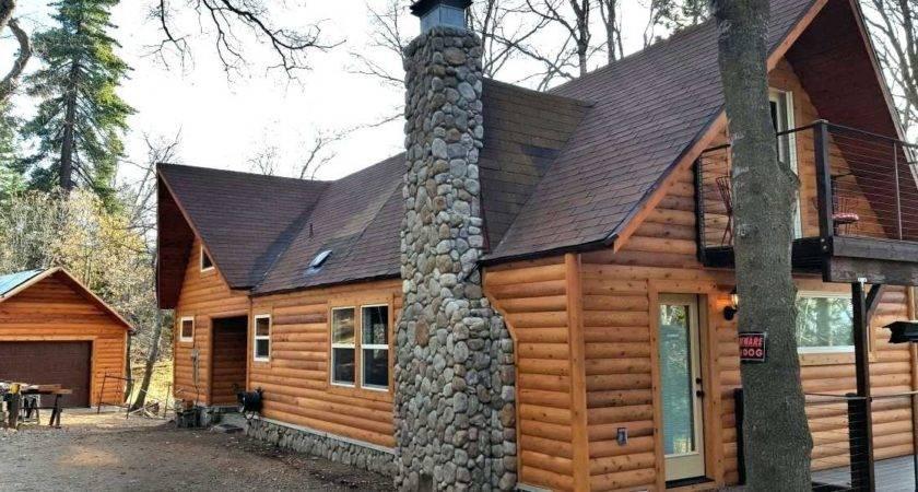 Rustic Log Siding Mobiledave