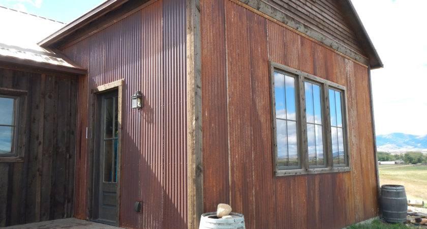 Rustic Metal Siding Handmade Houses Noah Bradley