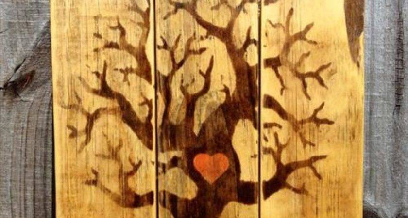 Rustic Scrap Wooden Pallet Wall Decor Pallets Designs